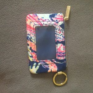 Gently used Lilly pullitzer print key id case